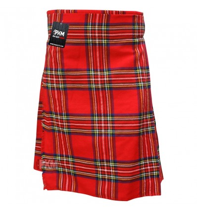 Scottish Red Wallace 5 Yard Tartan Kilt